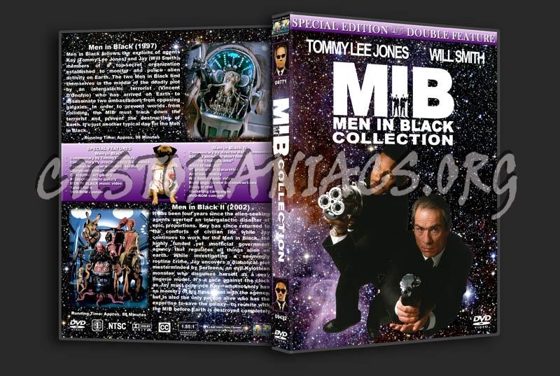 Men in Black / Men in Black II Double Feature dvd cover