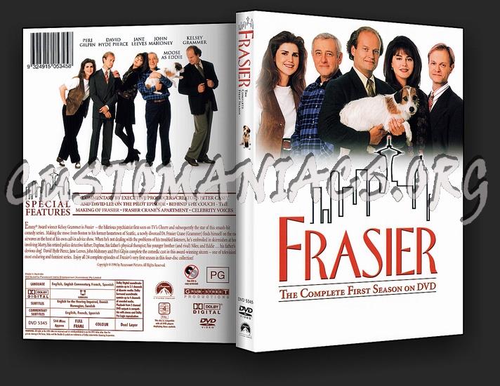 Frasier Series 1, 3 & 4 dvd cover