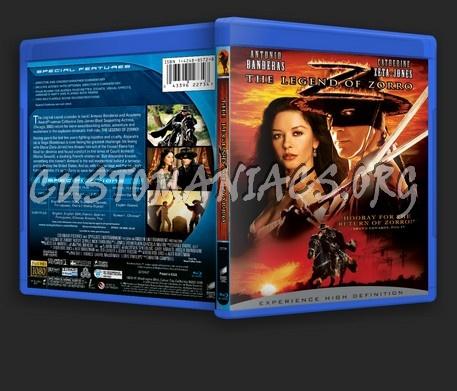 The Legend Of Zorro blu-ray cover