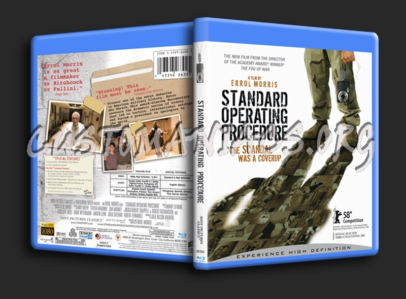 Standard Operating Procedure blu-ray cover