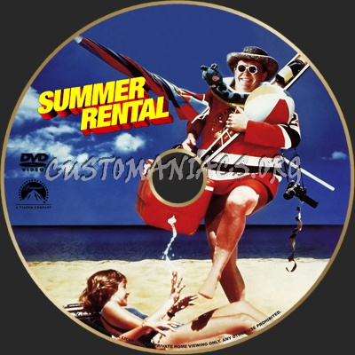 summer rental dvd label