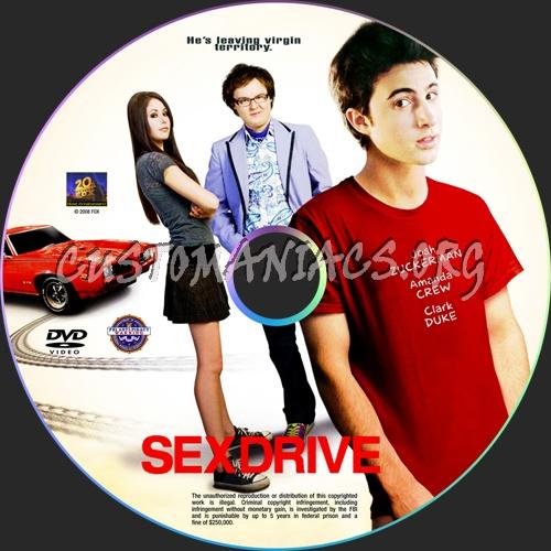 Sex Drive dvd label