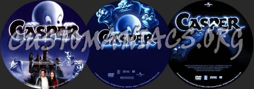 Casper dvd label