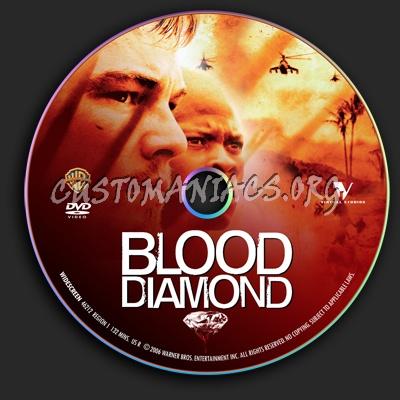 Blood Diamond dvd label