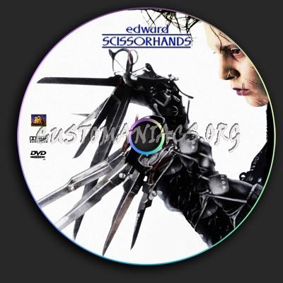 Edward Scissor Hands dvd label