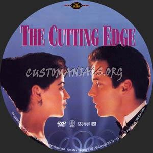 The Cutting Edge dvd label