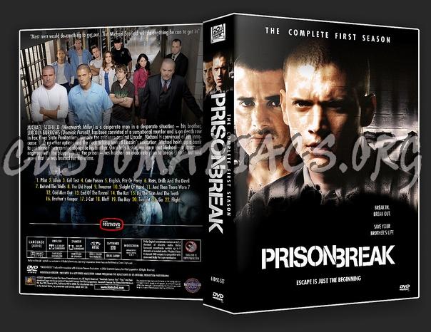 Prison Break - Season 1 dvd cover