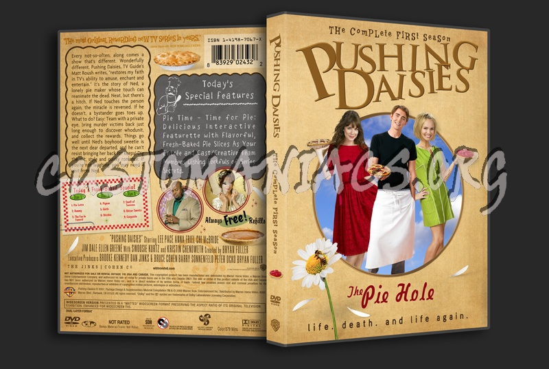 Pushing Daisies Season One dvd cover