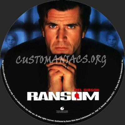 Ransom dvd label