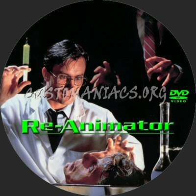 Re-Animator dvd label