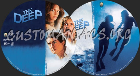 The Deep dvd label