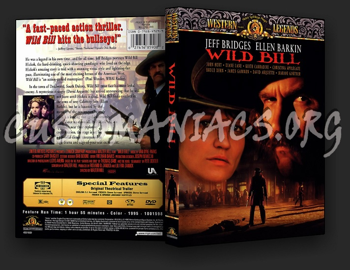 Wild Bill dvd cover