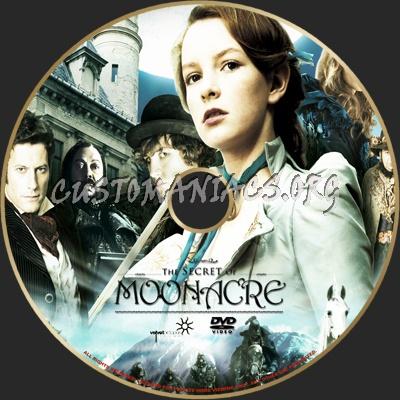The Secret Of Moonacre dvd label