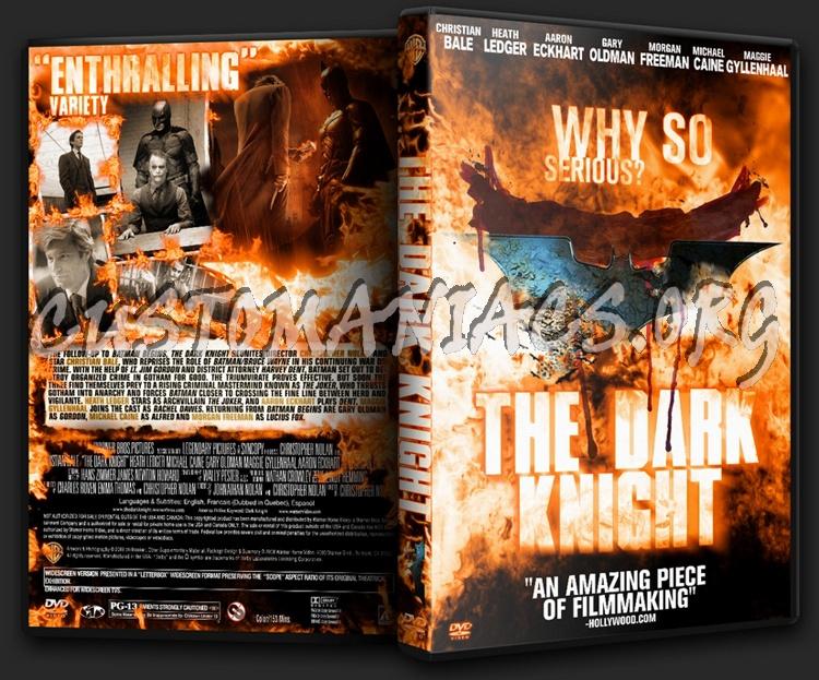 The Dark Knight dvd cover