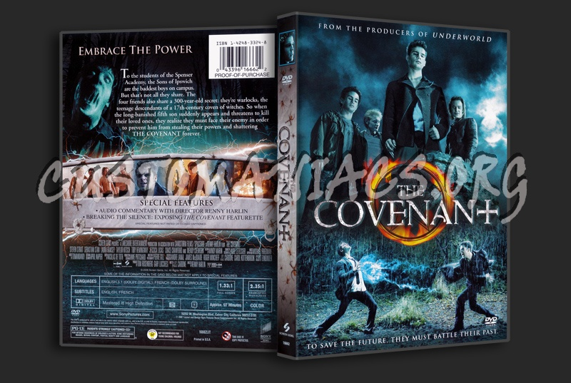 The Covenant dvd cover