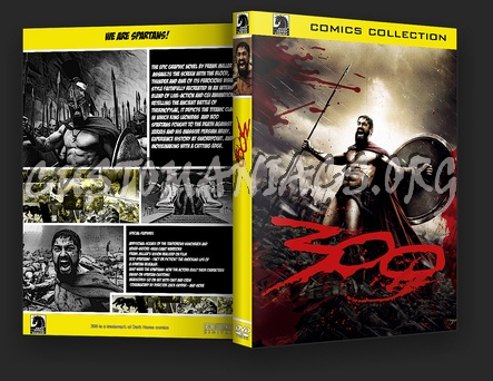 300 dvd cover
