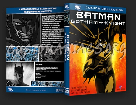 Gotham Knight dvd cover