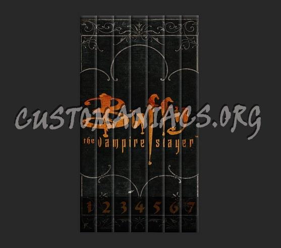 Buffy - The Vampire Slayer dvd cover