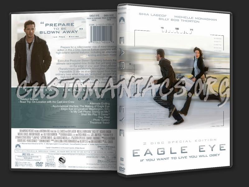 Eagle Eye dvd cover