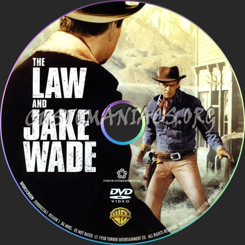 The Law and Jake Wade dvd label