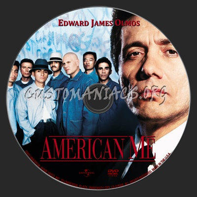 American Me dvd label
