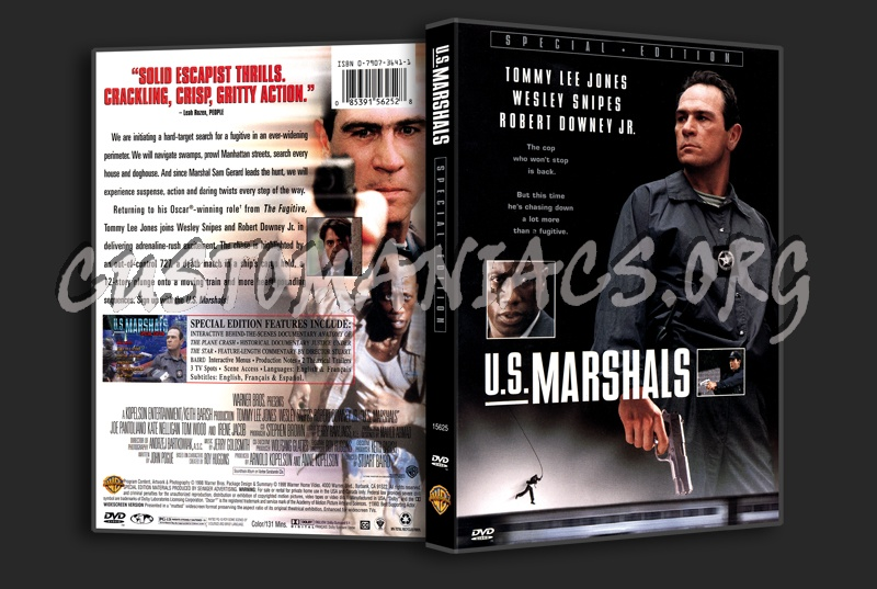 US Marshals dvd cover