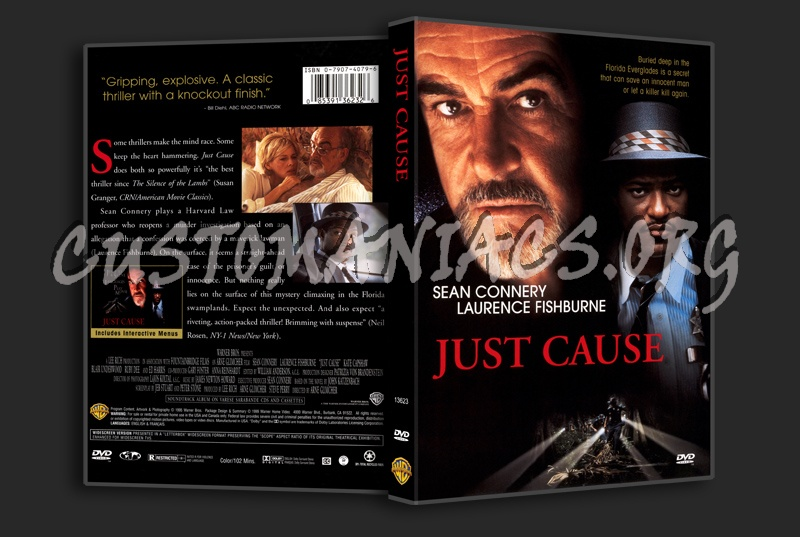 Just Cause dvd cover