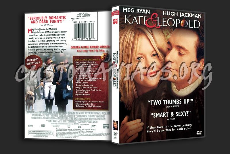 Kate & Leopold dvd cover