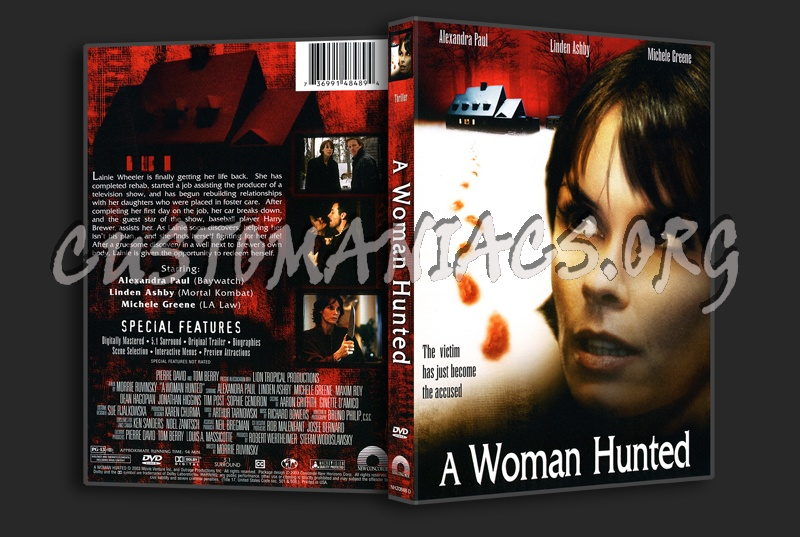 A Woman Hunted dvd cover