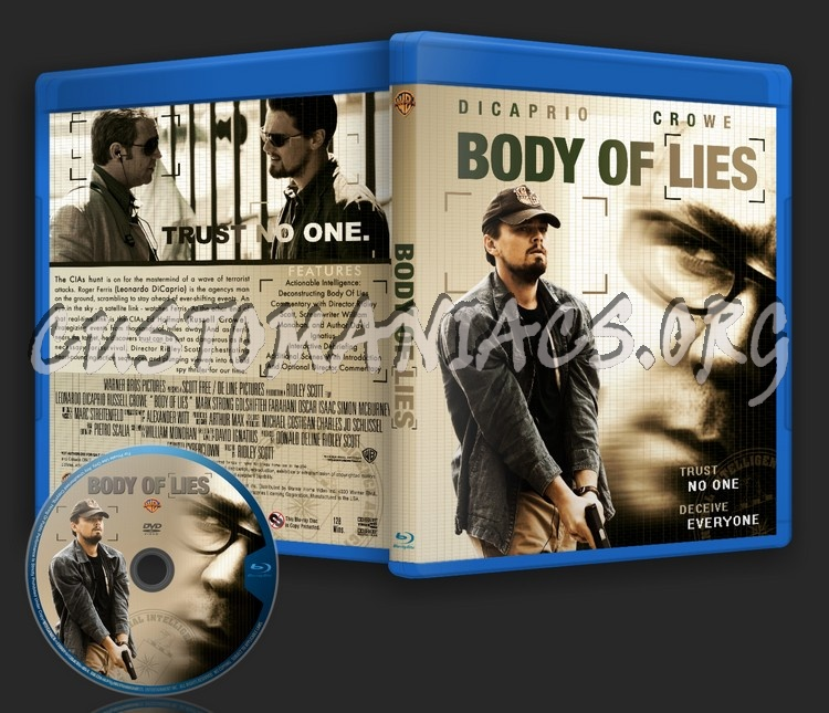 Body Of Lies blu-ray cover