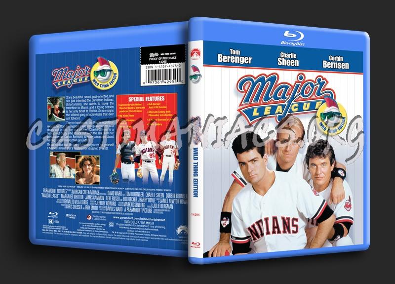 Major League blu-ray cover