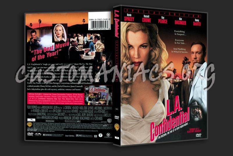L.A. Confidential dvd cover