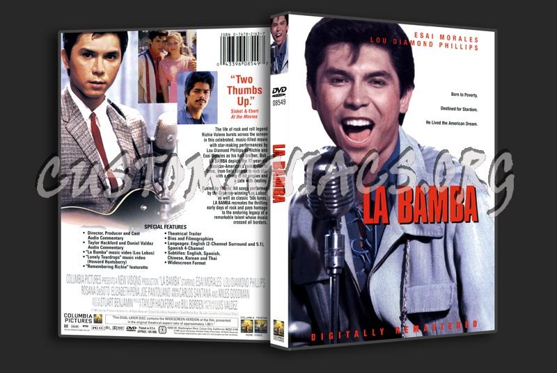 La Bamba dvd cover