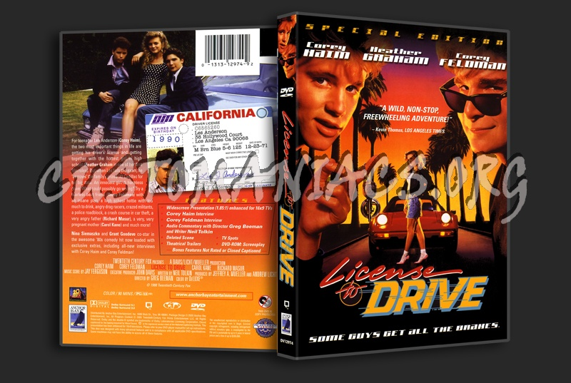 License to Drive dvd cover