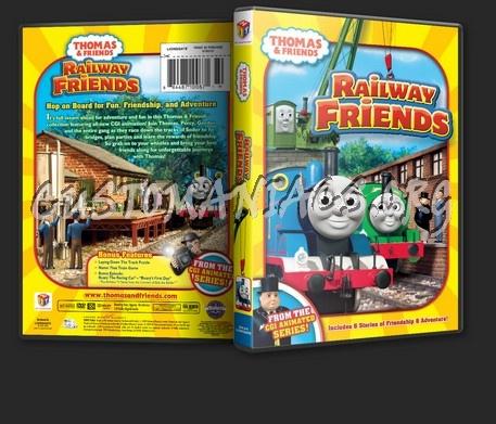 Thomas & Friends: Railway Friends dvd cover