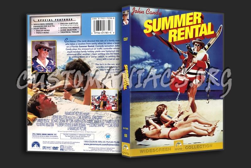 Summer Rental dvd cover