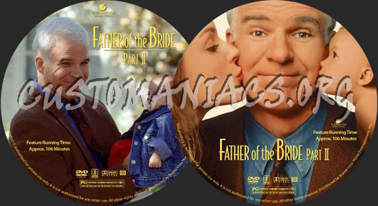 Father of the Bride II dvd label