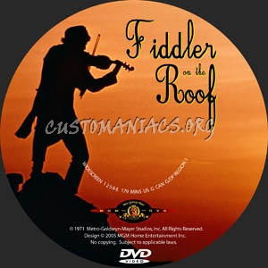 Fiddler On The Roof Dvd Label Dvd Covers Amp Labels By