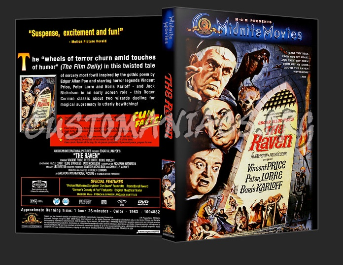 The Raven dvd cover