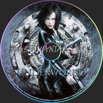 Underworld dvd label