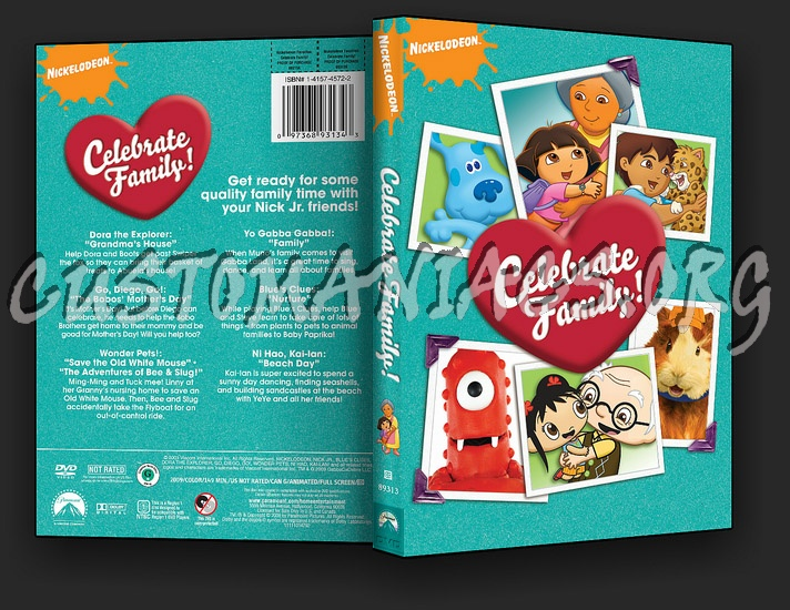 Celebrate Family Dvd Cover