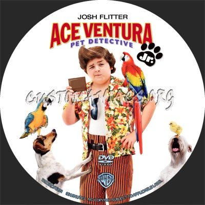dvd covers labels by customaniacs view single post ace ventura jr pet detective. Black Bedroom Furniture Sets. Home Design Ideas