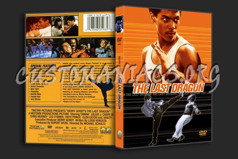 The Last Dragon dvd cover