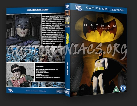 Batman 1966 dvd cover