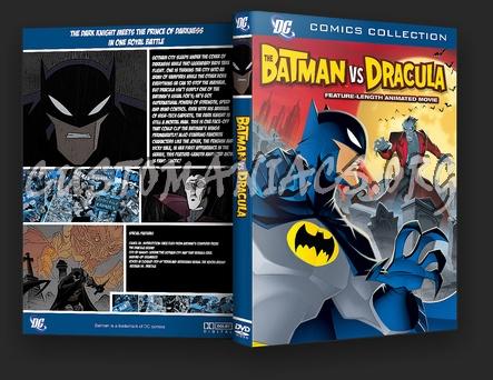 Batman Vs Dracula dvd cover