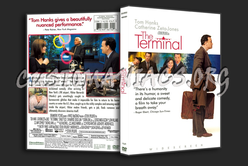 The Terminal dvd cover