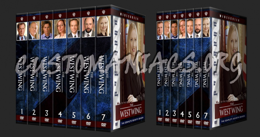 the west wing dvd cover dvd covers labels by customaniacs id 58381 free download highres. Black Bedroom Furniture Sets. Home Design Ideas