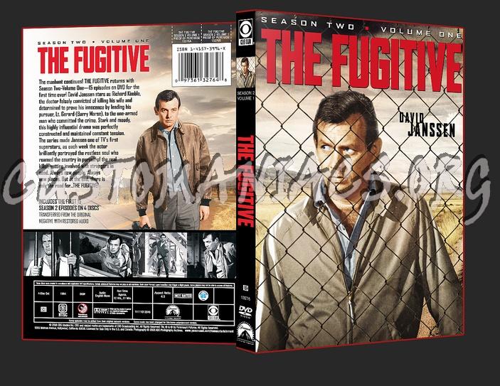 The Fugitive Season 2 Volume 1 dvd cover
