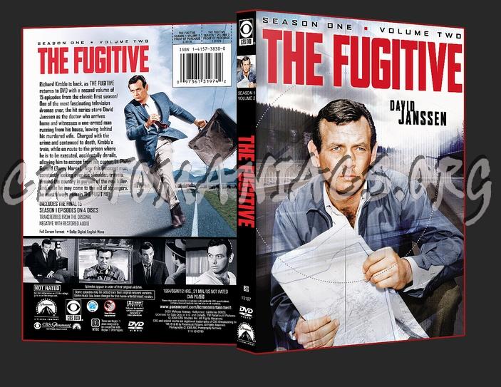 The Fugitive Season 1 Volume 2 dvd cover