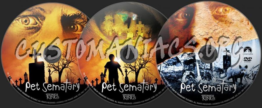 Pet Sematary dvd label